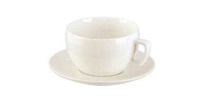 Чашка для завтрака с блюдцем Tescoma 387128 354255