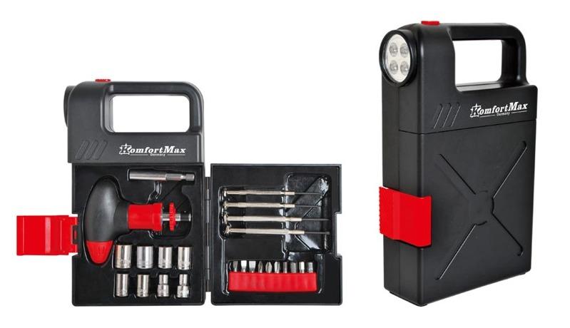 Набор инструментов в чемодане KomfortMax 898979