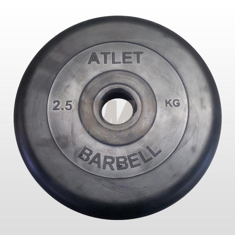 Диск обрезиненный Mb-Atlet B31-2,5 214558