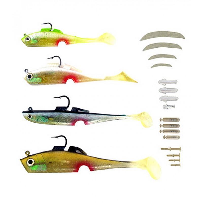 оптмаркет Набор снастей для рыбной ловли Mighty Bite 202365
